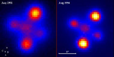 Einstein Cross Gravitational Lens